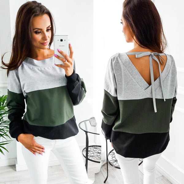 Winter O-Neck Long Sleeve Loose Pullovers - shoppingridge