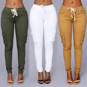 Candy Colors Elastic Sexy Skinny Jeans For Women - shoppingridge