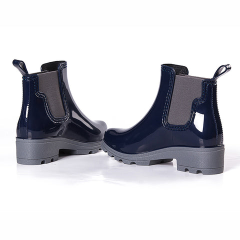 Ladies Low Heels Ankle Boots/Rain Boots
