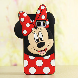 3D Cartoon Soft Silicone Cases for Samsung - shoppingridge