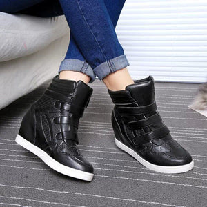 Women Ankle Wedges Boots