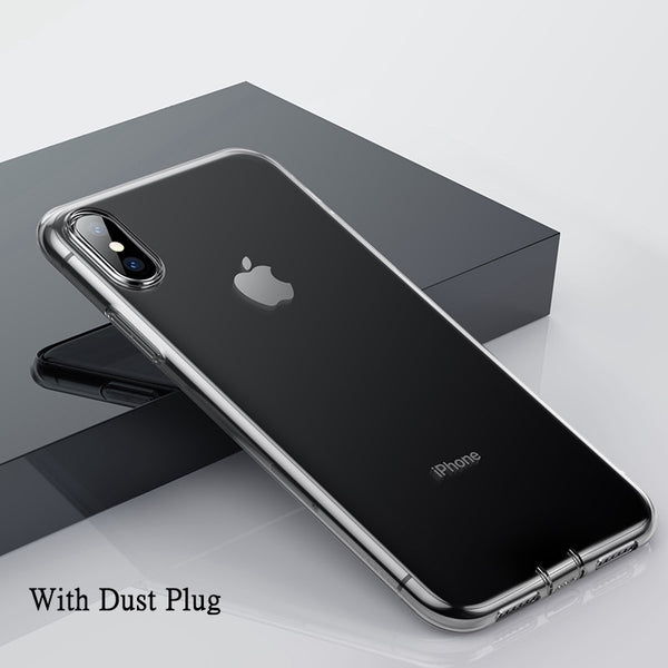 Ultra-Thin Transparent Case For iPhone Xs, Xs Max & XR
