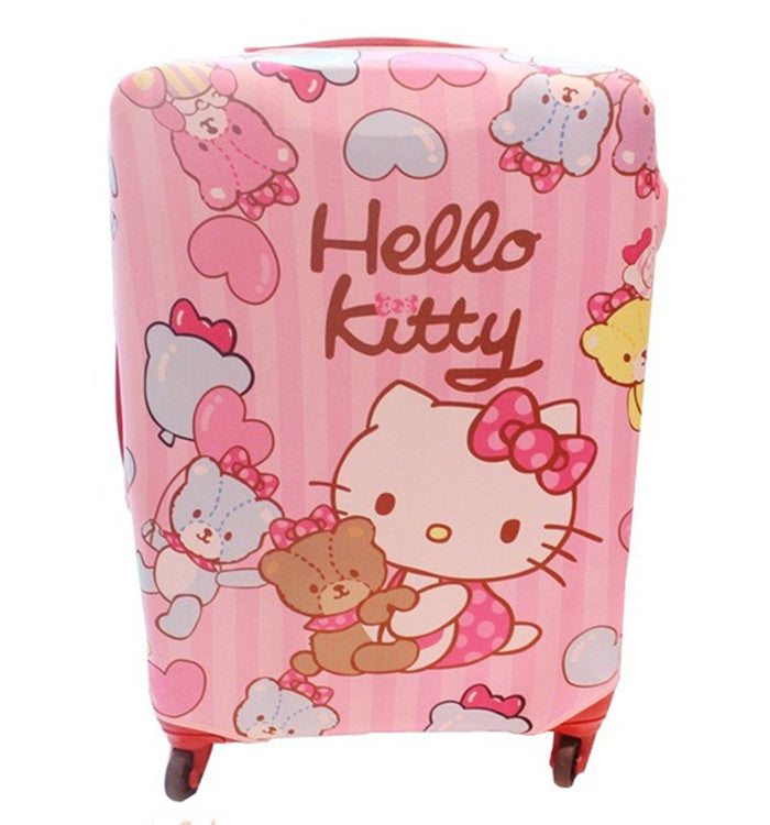 223dd76bd2fd Hello Kitty Cat Elastic Fabric Protective Luggage Covers – Shopping ...