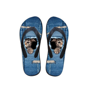 Summer Beach Rubber Flip Flops/Slippers