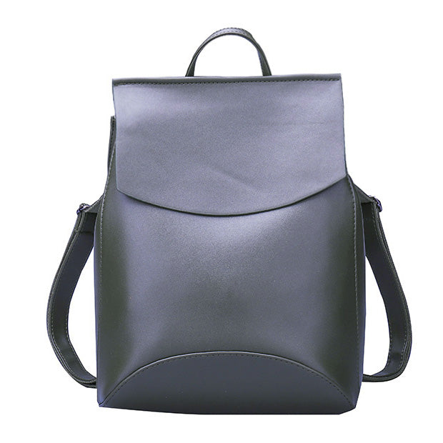 Fashion Women's Backpack High Quality Youth Leather Backpacks - shoppingridge