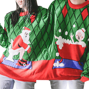 Couples Christmas Sweater (Two Persons)