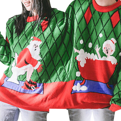 Couples Christmas Sweater (Two Persons) - shoppingridge