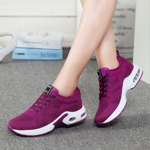 Super Light Lace-up Walking Women's Casual Shoes