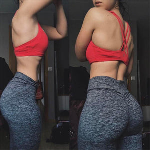 Casual Push Up Leggings Women Summer Workout Bottoms - shoppingridge