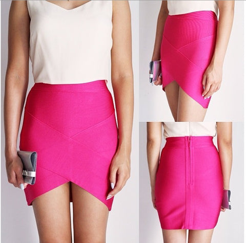 Women Hot Elastic Mini Sexy Night Club Skirt - shoppingridge