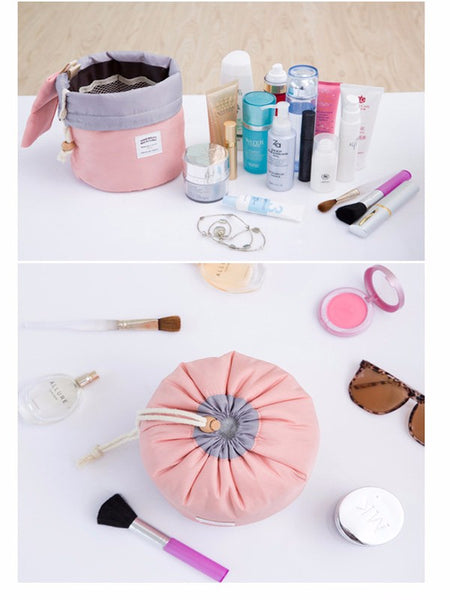 High Quality Barrel Shaped Travel Cosmetic Bag/ Makeup Bag - shoppingridge