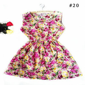 Gorgeous Casual Floral Sleeveless Printed Dress for Women - shoppingridge