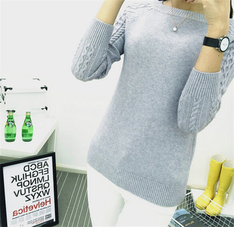 Winter O-neck Long Sleeve Pullovers - shoppingridge