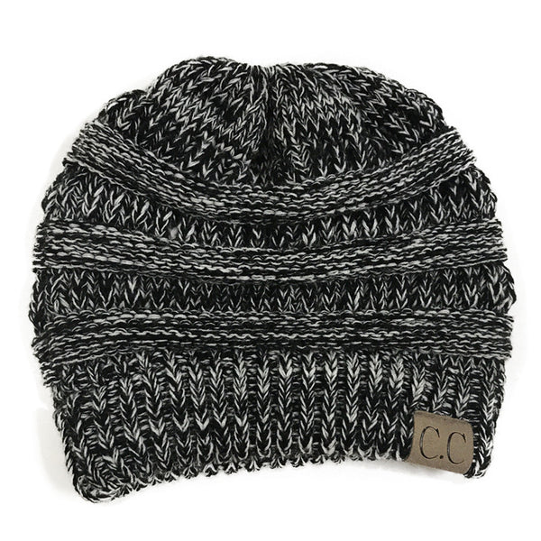 Trendy CC Pony tail Beanies&Hats - shoppingridge