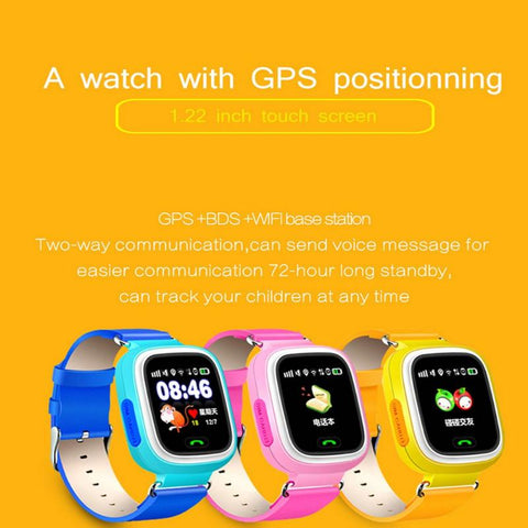 GPS Phone Positioning Smartwatch Touch Screen with WIFI