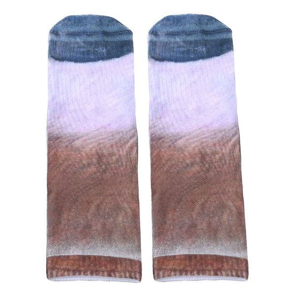 Animal Paw Printed Unisex Socks