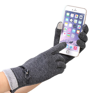 Mobile Phone Usable Smooth & Luxury Gloves for Women - shoppingridge