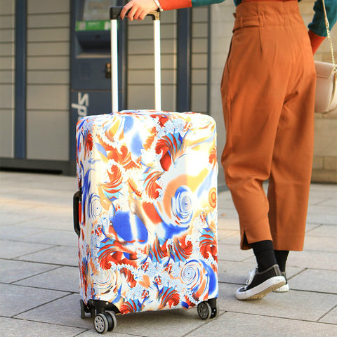 Fashion Trolley Suitcase Protect Dust Bag Case - shoppingridge