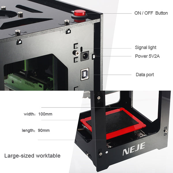 High Speed USB Laser Engraving Machine - shoppingridge