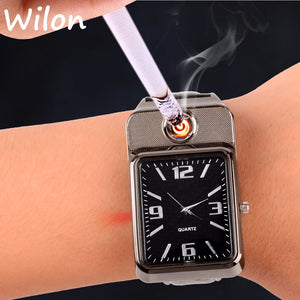 Electronic Cigarette Lighter Watches For Men - shoppingridge