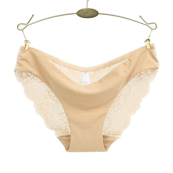 Women's Fancy Lace  Cotton Underwear/Panties - shoppingridge