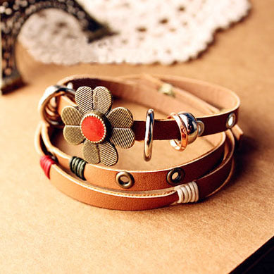 Crazy Leather Bracelet For The Fashion Lovers