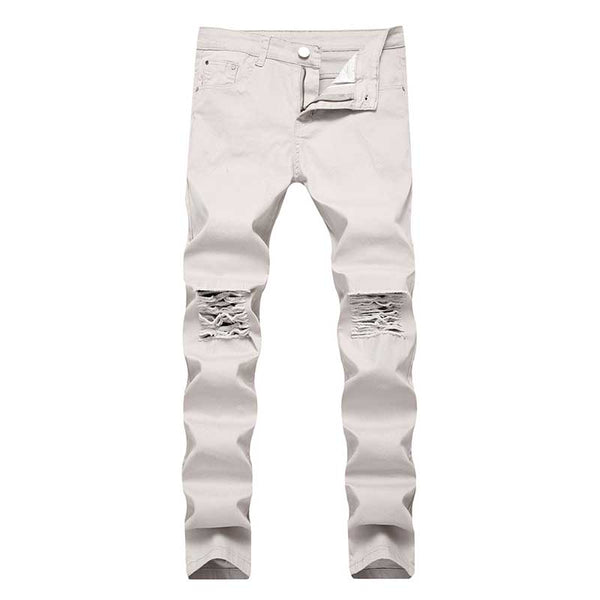 Skinny Ripped Stretchable Jeans - shoppingridge