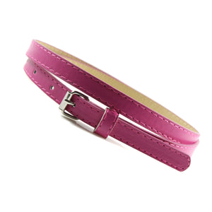 Sexy Faux Thin Leather Belt For Women - shoppingridge