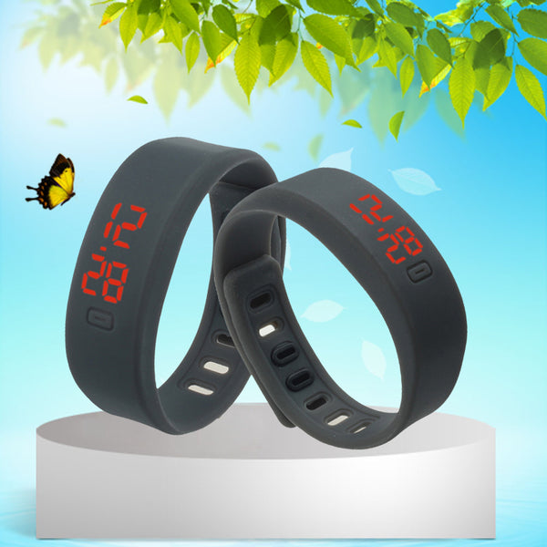 Unisex  Sports Silicon Digital LED Watch - shoppingridge