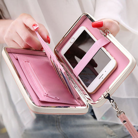 Perfect Classy Style  Leather Wallet For Girls
