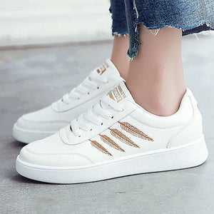 Women's Leaf Embroidery Non-Slip Casual/Vulcanize Shoes - shoppingridge