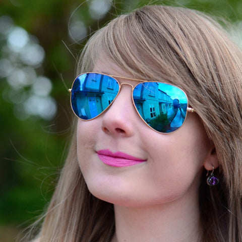 UV400 Classic Pilot Sunglasses For Unisex