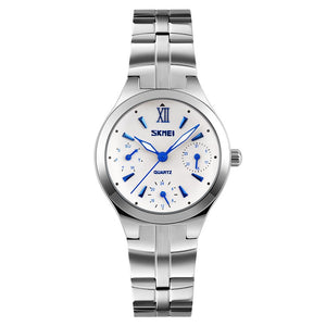 Quartz Stainless Steel Dial Bracelet Watch