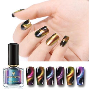 Magnetic Aurora 3D Cat Eye Nail Polish