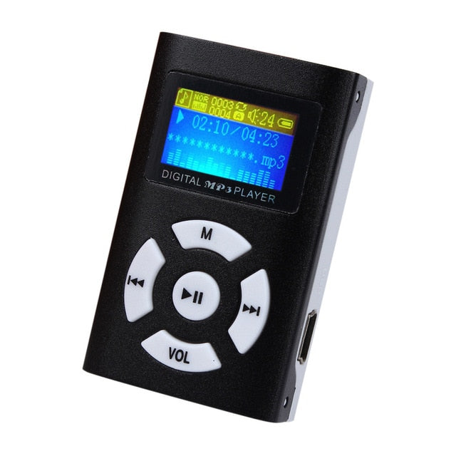 USB Mini MP3 Music Player LCD Screen - shoppingridge