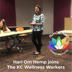 Hari Om Hemp at KC Wellness Workers