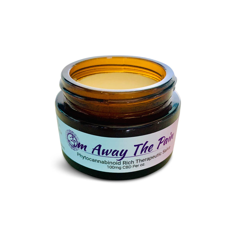 Om Away The Pain Therapeutic Salve (100mg / 1oz)