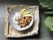 Load image into Gallery viewer, Raw Naked Muesli - The Muesli Folk Bircher Traditional Raw Gut Health Grains Energy Muesli Granola Vegan No Refined Sugar No Preservatives No oil Handcrafted Small Batch Seeds Plant Based Organic Nuts