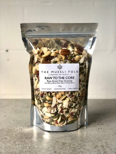 Raw to the Core Granola