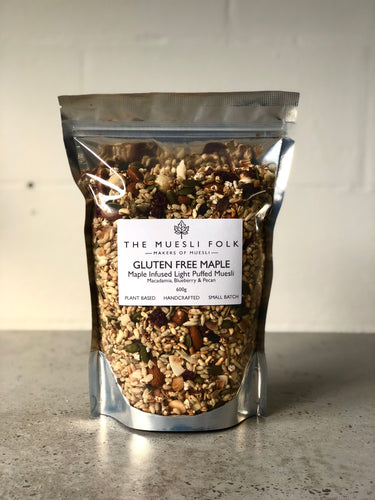 Gluten Free Maple Muesli