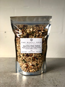 Gluten Free Maple - The Muesli Folk