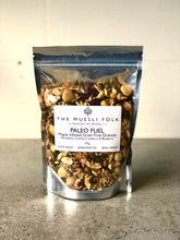 Load image into Gallery viewer, Paleo Fuel - The Muesli Folk Grain-Free Snack Nutmix Energy Vegan Toasted Small Batch Seeds Plant Based Paleo Organic Nuts No Refined Sugar No Preservatives No oil Muesli Maple Handcrafted Granola Grain Free Gluten Free Crunchy Baked