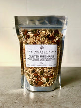 Load image into Gallery viewer, Gluten Free Maple - The Muesli Folk Vegan Toasted Small Batch Seeds Plant Based Organic Nuts No Refined Sugar No Preservatives No oil Maple Light Handcrafted Gluten Free Crunchy Baked