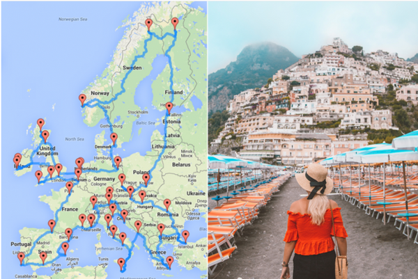 AWESOME: This is the Ultimate Road Trip Through Europe