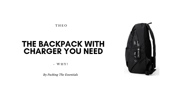 The Backpack with Charger You Need