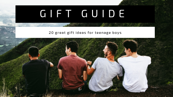 GIFT GUIDE — 20 GREAT GIFT IDEAS FOR TEENAGE BOYS