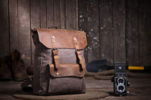 Load image into Gallery viewer, Ray's Vintage Backpack - Packing the essentials