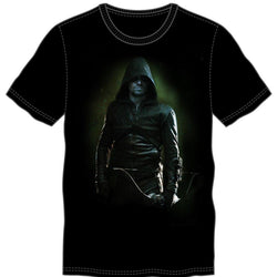 The Green Arrow Costume Black T-Shirt Men