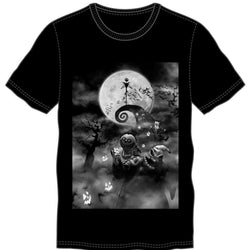 Disney Nightmare Spooky Group T-Shirt Men