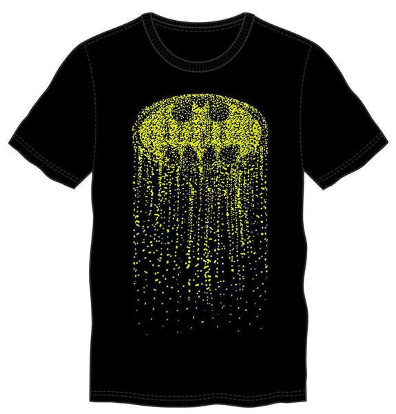 Batman Black Cascading Logo T-Shirt Men